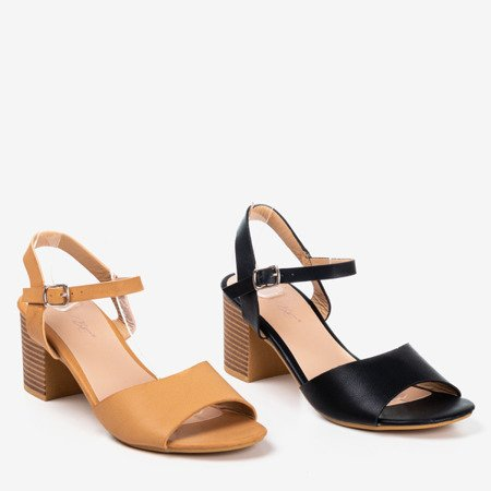Beige high heel sandals Loaha - Footwear