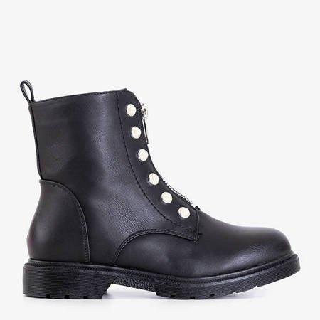 Black bags with Albel decorations - Footwear