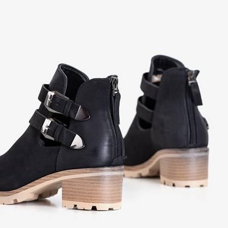 Black women's boots on the Afonia post - Footwear