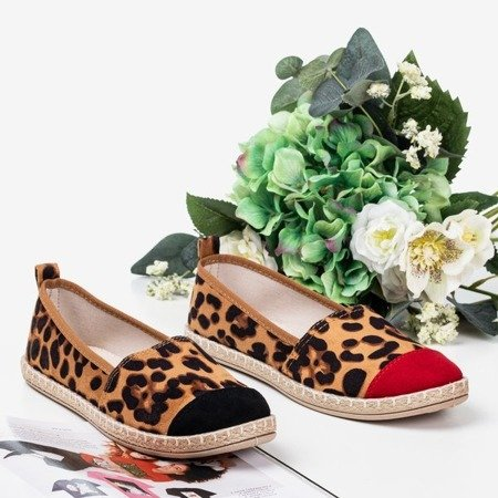 Black women's espadrilles a'la panther Fulimpa - Footwear 1