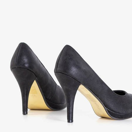 Black women's pumps on a high heel Mawel - Shoes