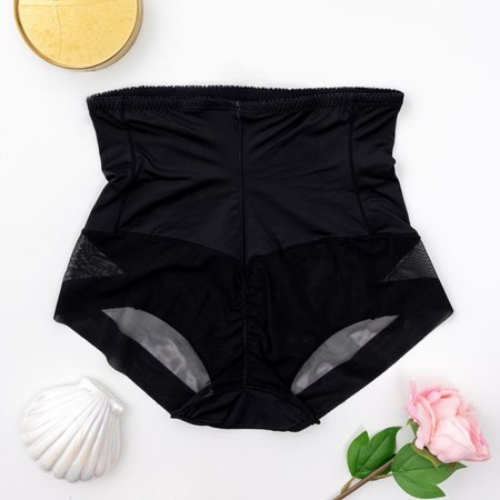 Black women's slightly shaping panties - Underwear