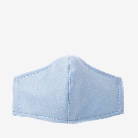 Blue 3-ply face mask - Masks