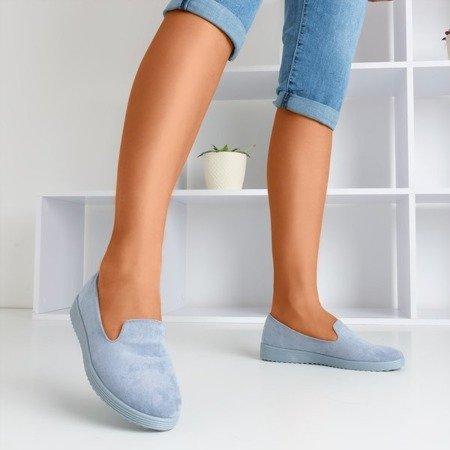 Blue loafers Isyda - Footwear 1