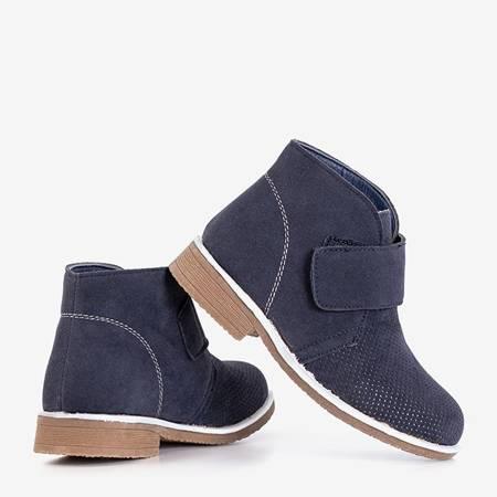 Boys' navy blue Pallavi boots - Footwear