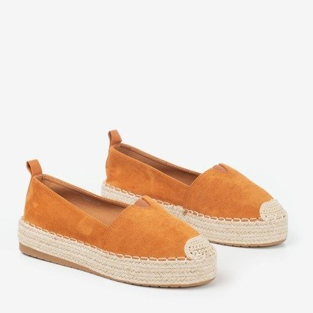 Brown espadrilles on the Umox platform - Footwear