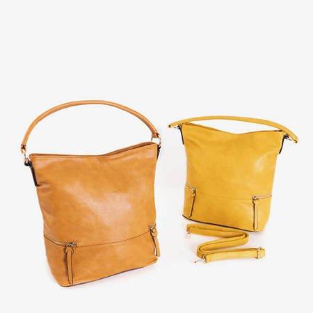 Brown large shoulder bag - Handbags