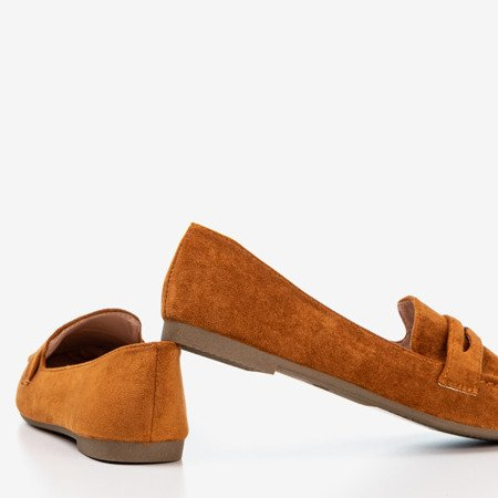 Brown loafers for women Loures - Footwear 1