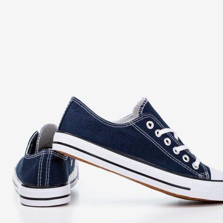 Dark blue men's sneakers Lonis - Footwear 1
