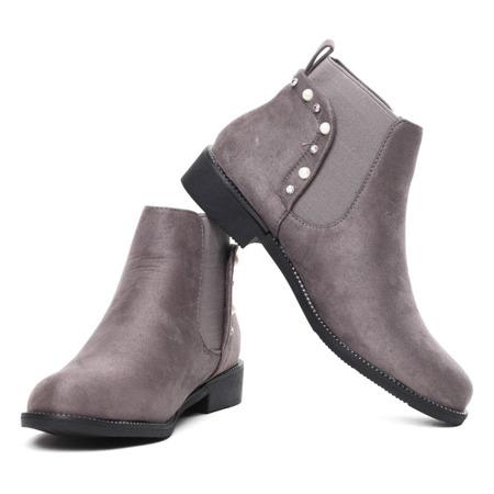 Dormitoena gray suede boots - Footwear