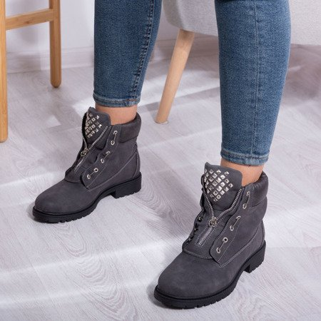 Gray Monah insulated boots - Footwear