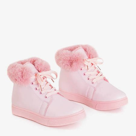 Haifa pink women's insulated sneakers - shoes