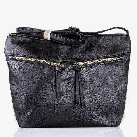 Large black shoulder bag - Handbags