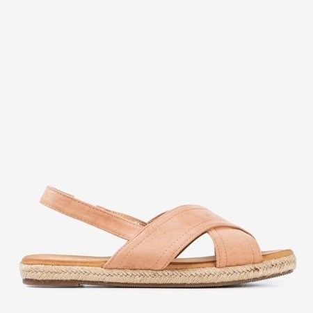 Light pink women's Cosilia sandals - Footwear 1