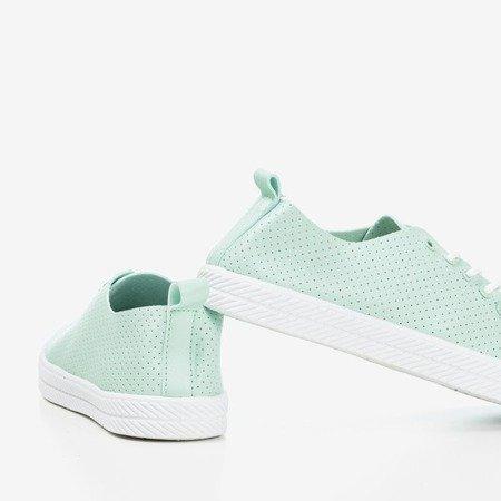 Mint Ahama women's openwork sneakers - Footwear 1