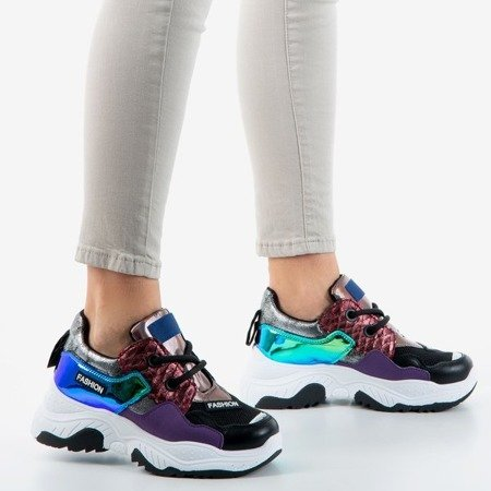 Multicolor New Jersey women's sneakers - Footwear