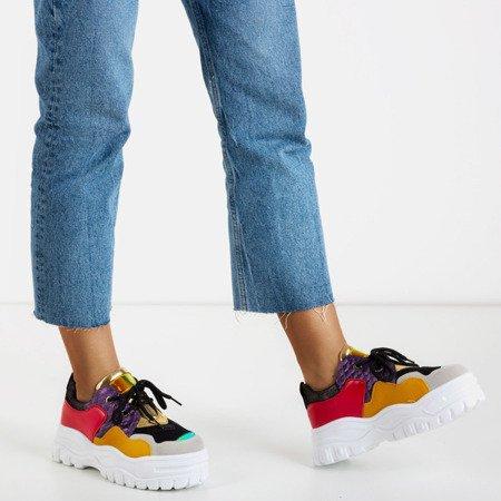 Multicolored women's sports sneakers Stamford - Footwear 1