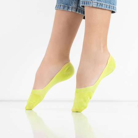Neon green women's socks - Socks