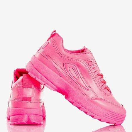 Neon pink women's sneakers That's It - Footwear 1