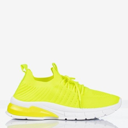 Neon yellow women's sports shoes Brighton - Footwear 1