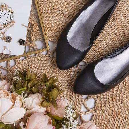 OUTLET Black Nocciano ballerinas - Footwear