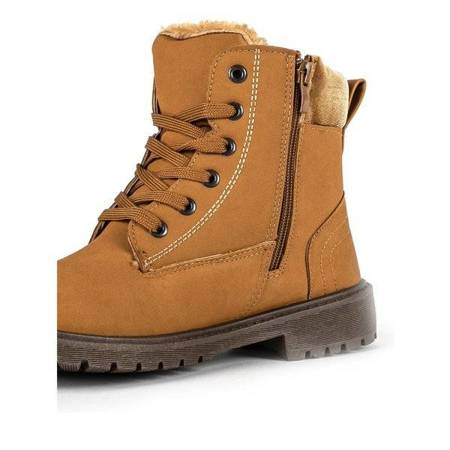 OUTLET Brown, insulated boots from Colorado - Shoes