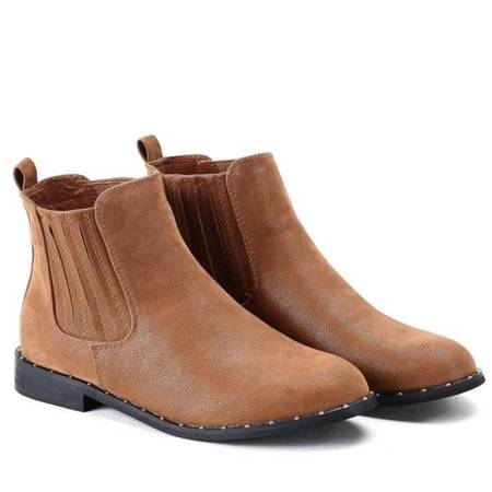 OUTLET Classic Chelsea boots in brown Audria - Footwear