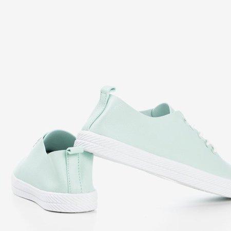 OUTLET Mint laced sneakers Ewilia - Footwear