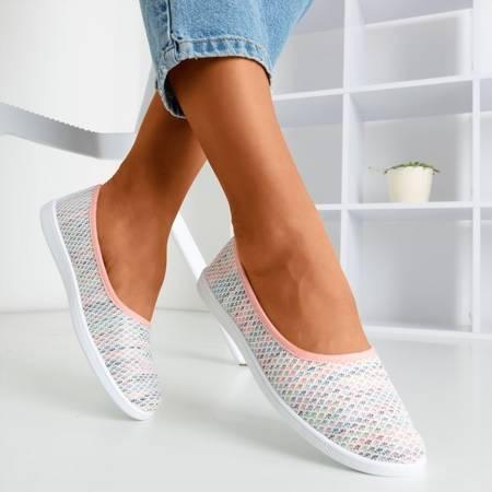 Pink Slip-on women's Edessa - Shoes 1