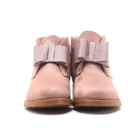 Pink, short Tiggy boots - Footwear