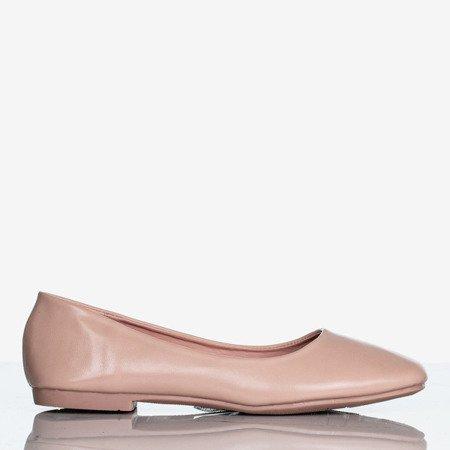 Pink women's flat heels Lin - Footwear 1