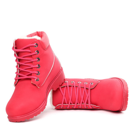 Red insulated Everie boots - Footwear