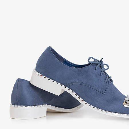 Scalinnea blue tied oxford shoes - Footwear