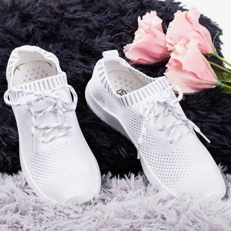 Sethe women's white sports shoes - Footwear