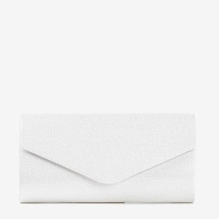 Silver clutch bag on a chain - Handbags