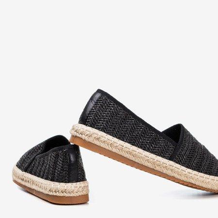 Sunrise women's black espadrilles - Footwear