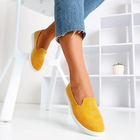 Verinda mustard openwork loafers - Footwear