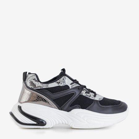 Waks Black Women's Sports Shoes - Footwear