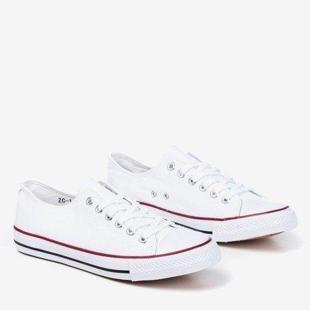 White men's sneakers Lonis - Footwear 1