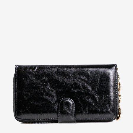 Women's black wallet - Wallet