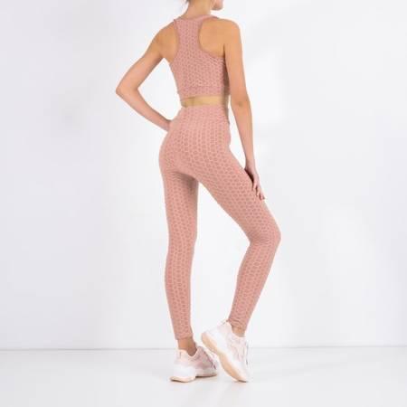 Women's pink sports set - Clothing