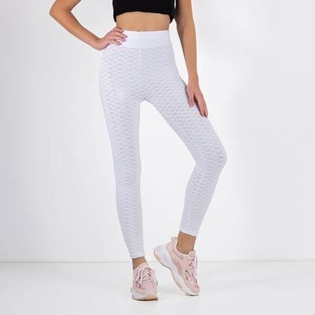 Women's white leggings - Clothing