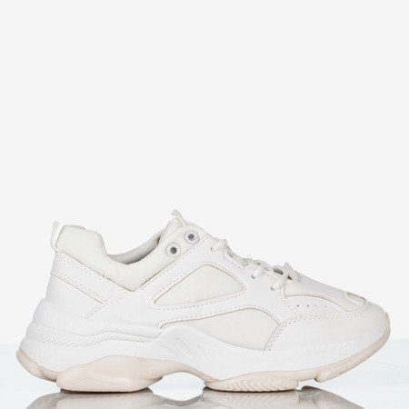 Youth white sneakers - Footwear
