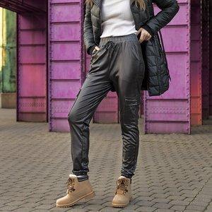 Black women's cargo pants - Clothing