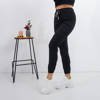Black women's cargo pants with pockets - Trousers