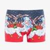Men's navy blue Christmas boxer shorts - Underwear
