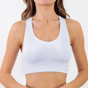 Women's White Sports Bra - Underwear